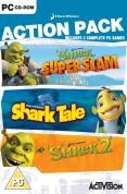 Action Pack (Shrek Super Slam, Shark Tale & Shrek 2) (PC)