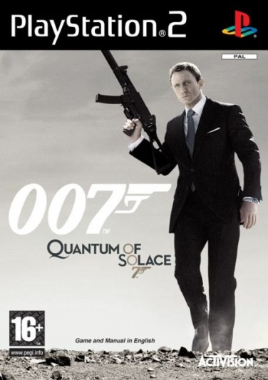 James Bond: Quantum Of Solace (PS2)