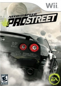 Need For Speed (NFS): ProStreet - Wii